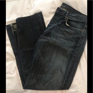 Men's 7 For All Mankind Slouchy Fit Blue Jeans 36